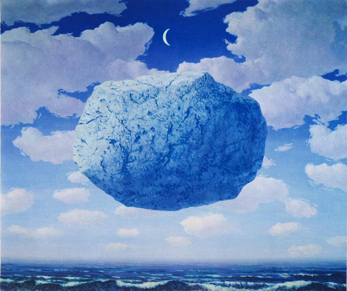 René Magritte (after) - La Flèche de Zénon (Zeno's Arrow)
