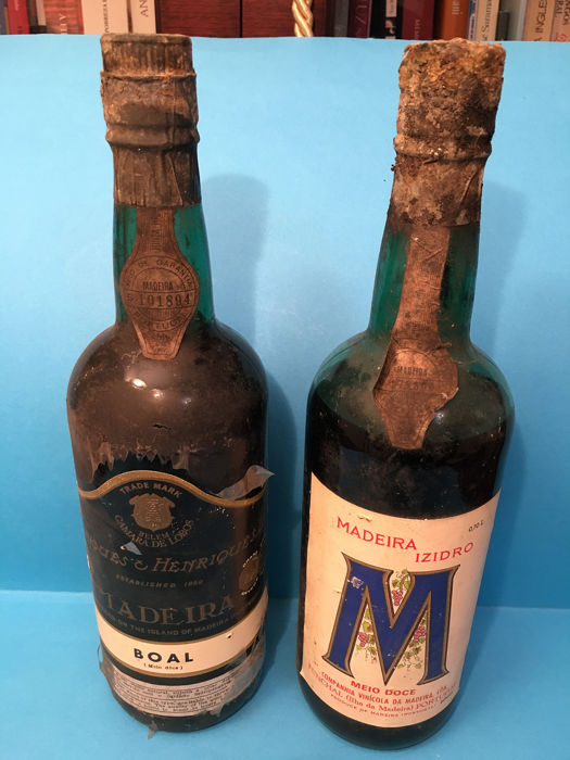 "Henriques & Henriques Boal and Madeira Izidro ""Meio Doce"" - Madeira - 2 Bottles (0.75L)"