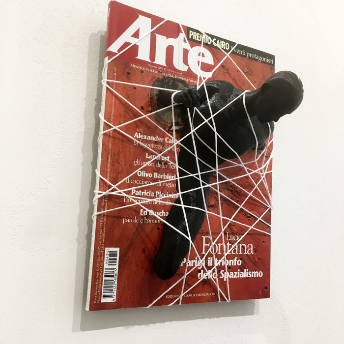 Andrea Giorgi - wall sculpture Escape from... Arte (ottobre 2009)