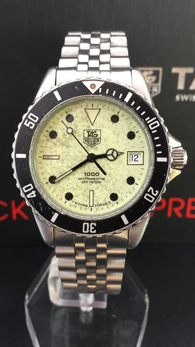 TAG Heuer - 1000 Professional Diver - Dial Radioactivo - Heren - 1980-1989