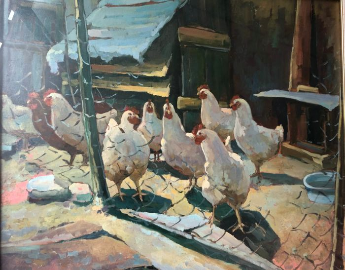 Gianfranco Santi - Le galline
