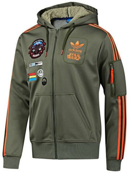 Star Wars Adidas - Rebel XWing Military Han Solo Jacket - Limited Star Wars Edition - Size XL