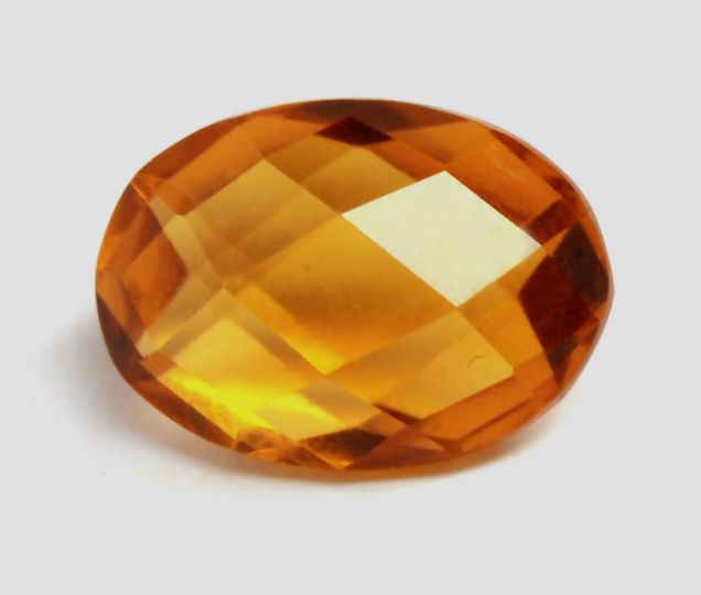 Pas de réserve - Orange vif, Citrine - 5.79 ct