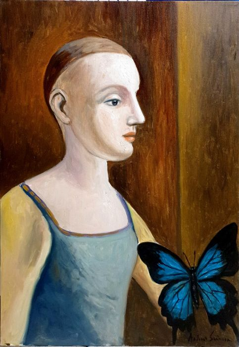 Antonio Sciacca - Blue butterfly