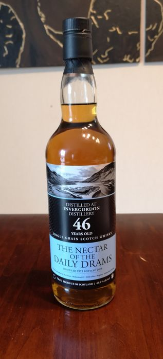 Invergordon 1972 46 years old - The Nectar - b. 2019 - 0.7 Litres