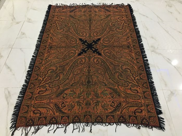 Paisley Shawl - Wool - 19th century