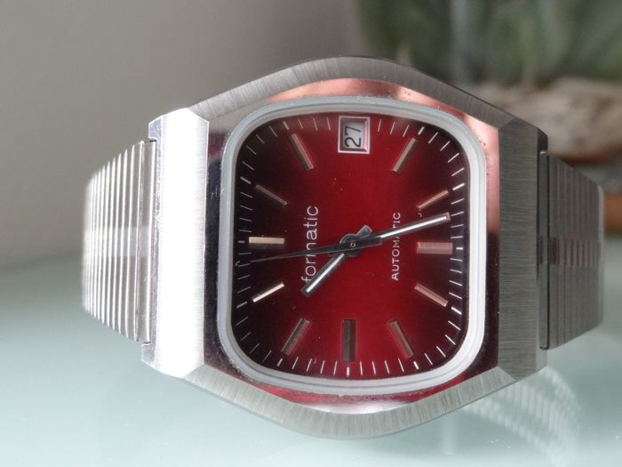 Formatic - Red Dial - Jumbo Size - Heren - 1970-1979