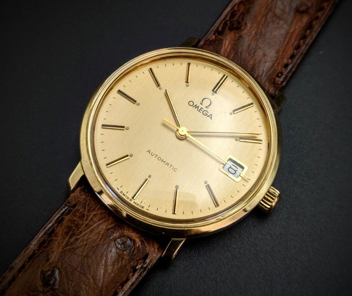 Omega - Automatic Solid Gold - 1031 - Men - 1970-1979
