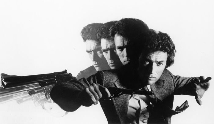 Philippe Halsmann (1906-1979) - Clint Eastwood is Dirty Harry in Magnum Force