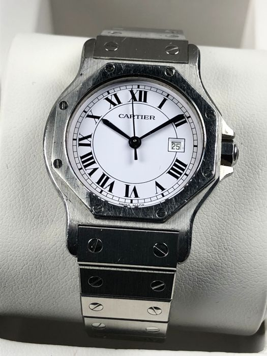 Cartier - Santos Octagon Automatic - Men - 1990-1999