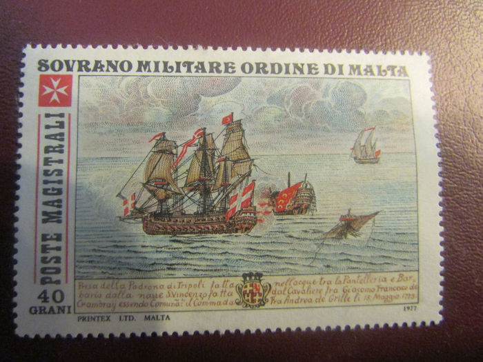 SMOM - Incomplete collection of stamps of the Sovereign Order of Malta
