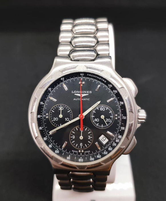 Longines - Conquest Heritage - Automatic Chronograph - L1.623.4 - Heren - 2000-2010