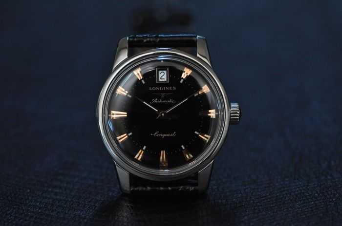 Longines - Conquest Heritage Automatic - L.1.611.4 - Heren - 2011-heden