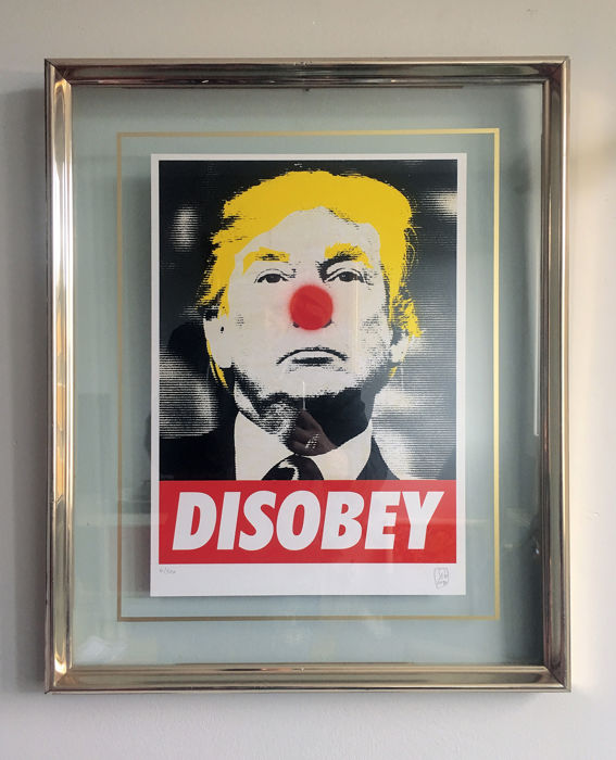 SiG Martín Sigwald The MagicArtist® - Trump DISOBEY