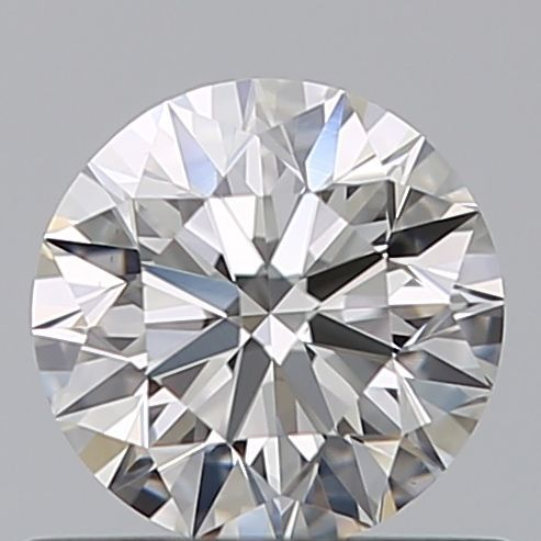 1 pcs Diamant - 0.60 ct - Brillant - D (farblos) - VVS2
