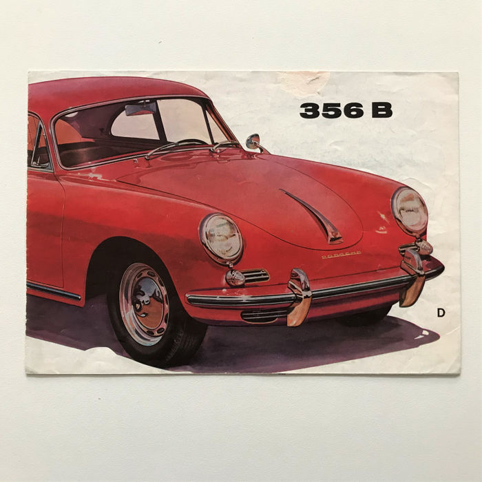 Brochures / Catalogi - Porsche 356 B folder (met Roadster) - 1960
