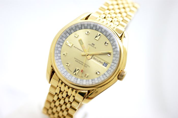 Sicura - Vintage Automatic Cal.158 BF6 - Heren - 1960-1969
