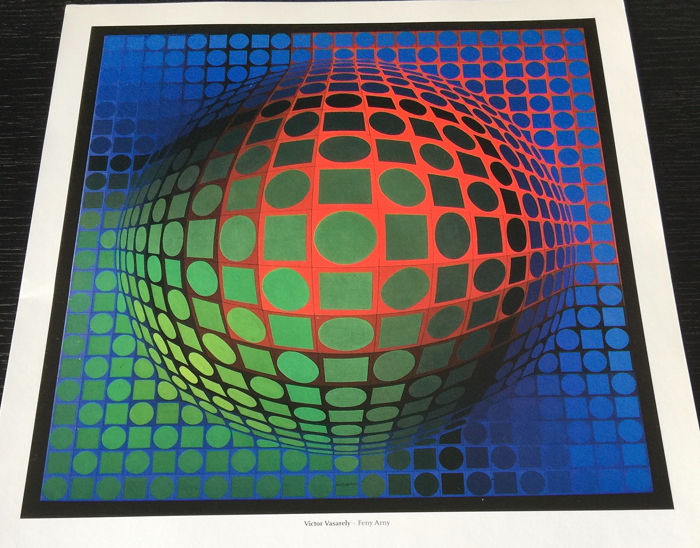 VICTOR VASARELY  - Various artwork (13 prints)