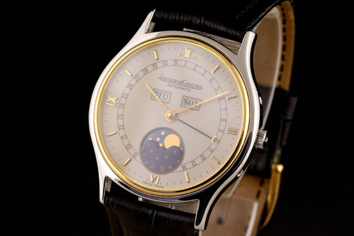 Jaeger-LeCoultre - Triple Date Moonphase Automatic - 141.119.5 - Heren - 1980-1989