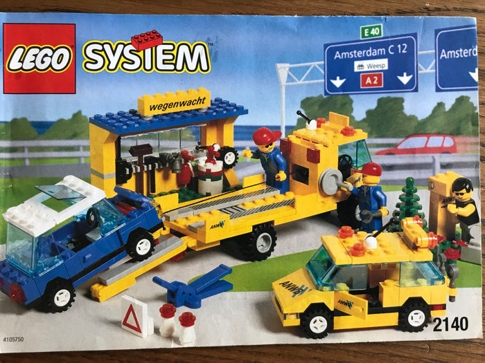 LEGO - City - Car ANWB Station en voertuigen - Catawiki