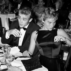 Frank Worth (1913-1985) - James Dean & Ursula Andress, 'Dinner at the Oscars', 1955