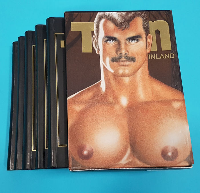 Tom of Finland - The gay comic collection - volume 1-5 in box - 2005