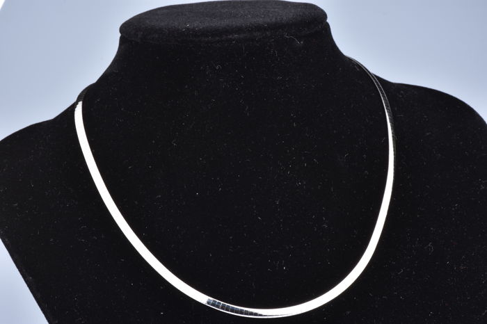 18 kt. Bicolour, White gold, Yellow gold - Necklace