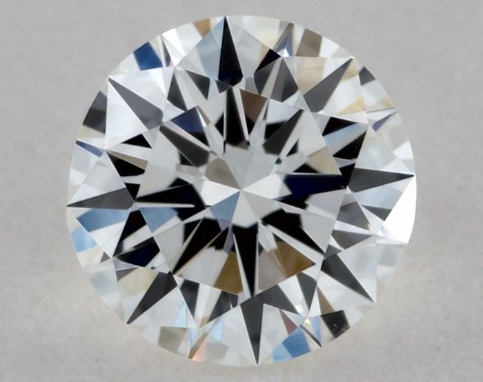 1 pcs Diamante - 0.27 ct - Redondo - G - VVS2