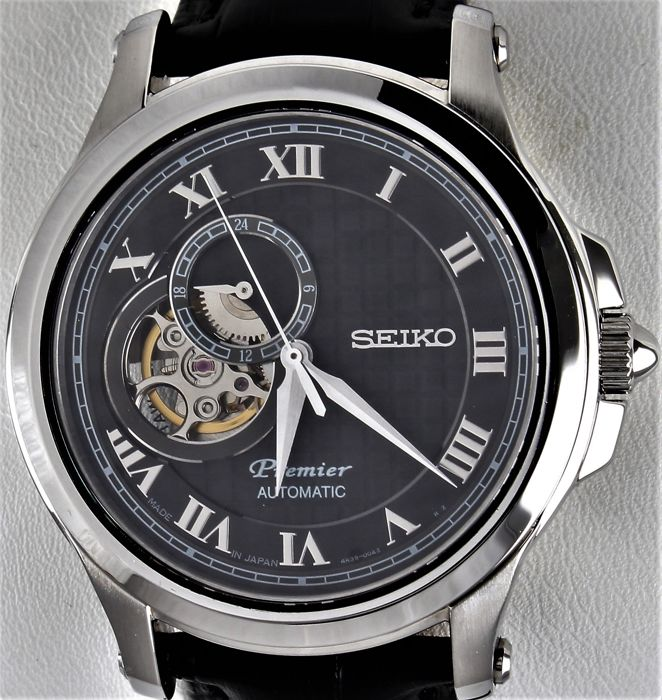 "Seiko - ""NO RESERVE PRICE"" PREMIER - Automatic -  Ref. No: 4R39-00AO - Never Worn - Warranty - Heren - 2011-heden"