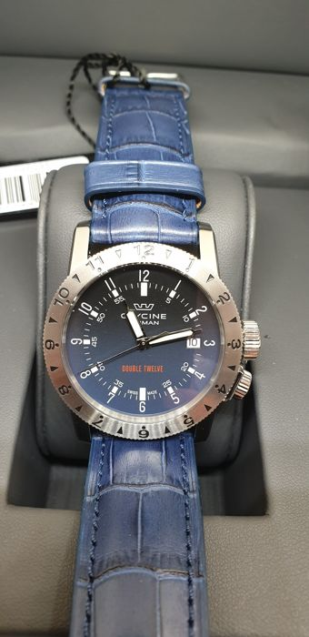 Glycine - Airman Worldtimer Double Twelve Automatic Blue Dial  -     3939.18.LBK8  - Hombre - 2019