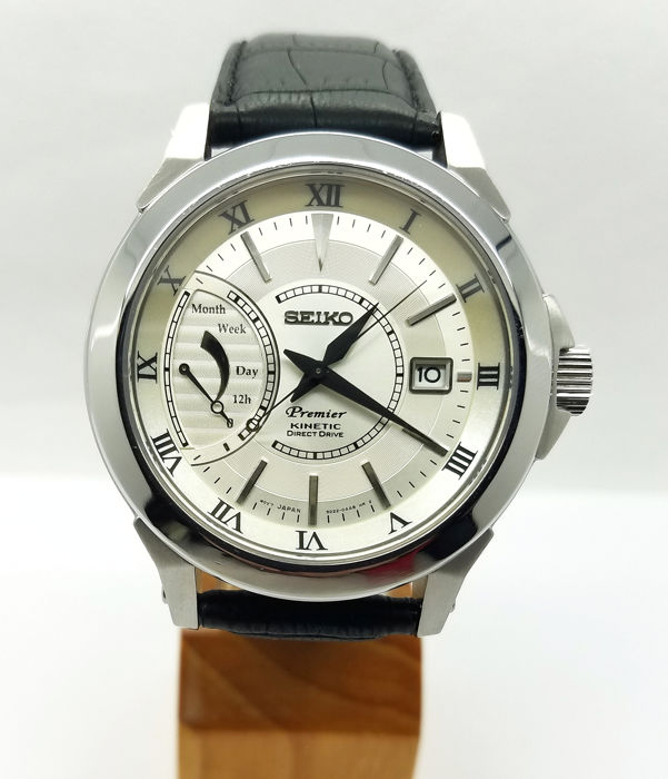 Seiko - Premier Kinetic Direct Drive (power reserve) - 5D22-0AA0 - Homme - 2011-aujourd'hui