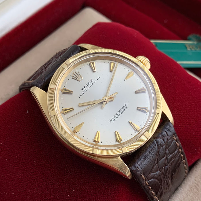 Rolex - Oyster Perpetual - 1007 - Hombre - 1960
