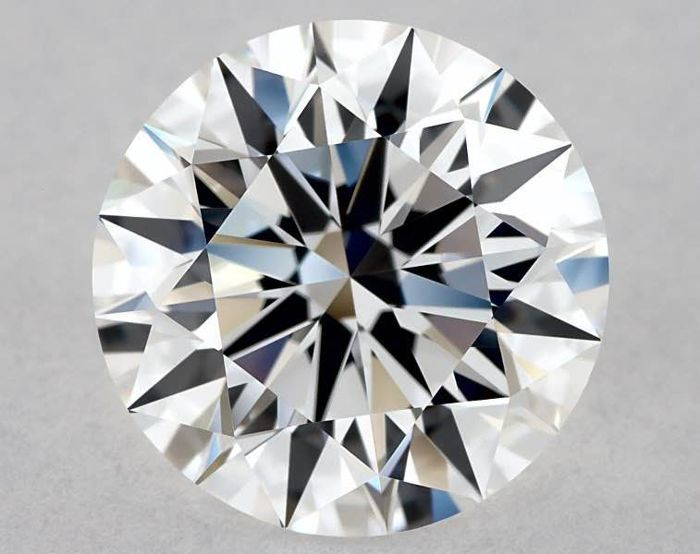 1 pcs Diamante - 1.00 ct - Brillante - D (incoloro) - IF (Inmaculado), LC (Puro a la lupa)