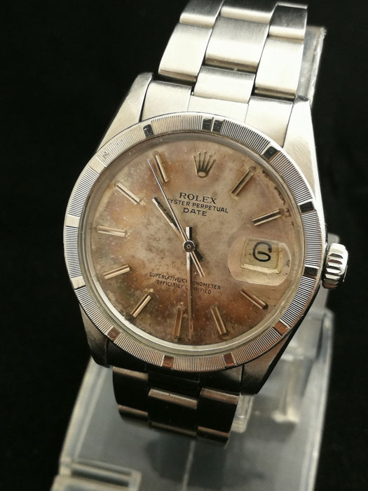 Rolex - Date - 1500 - Homme - 1960-1969