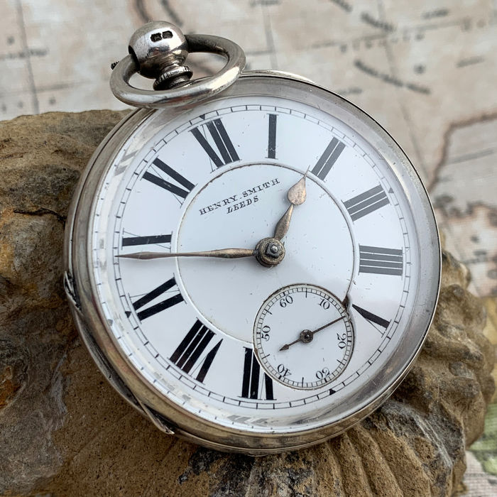Henry Smith -  Fusee pocket watch - NO RESERVE PRICE - Hombre - 1850 - 1900