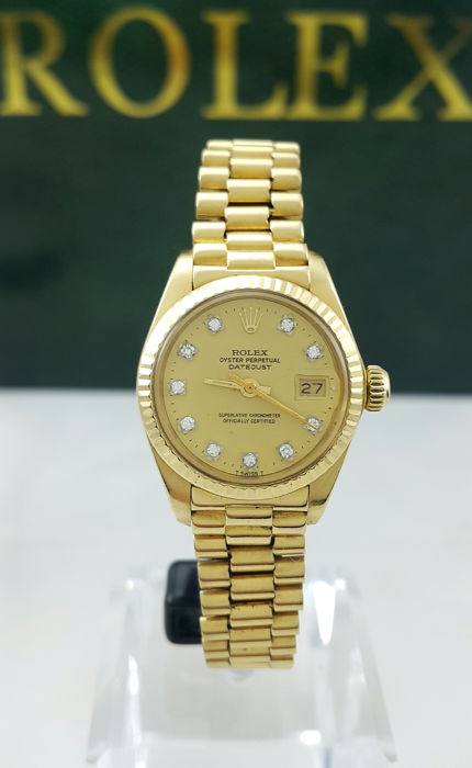 Rolex - Oyster Perpetual Datejust 'Ladies President' - 6917 - Mujer - 1980-1989
