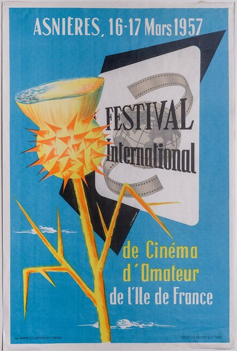 Daprey & Co, - Festival international de cinéma amateur - 1957