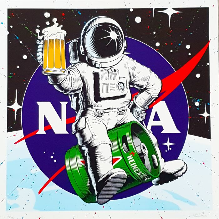 SpaceTraveller - Gravity Beer (Embellished)