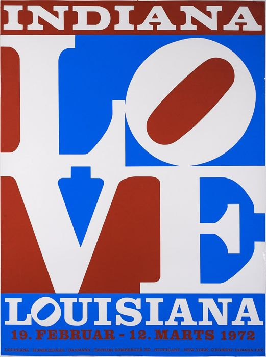 Robert Indiana -  Love Louisiana