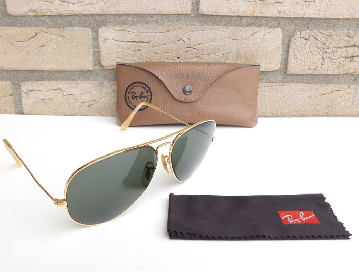 77b8ca61bb Ray Ban - Bausch   Lomb - aviator Sunglasses - Catawiki