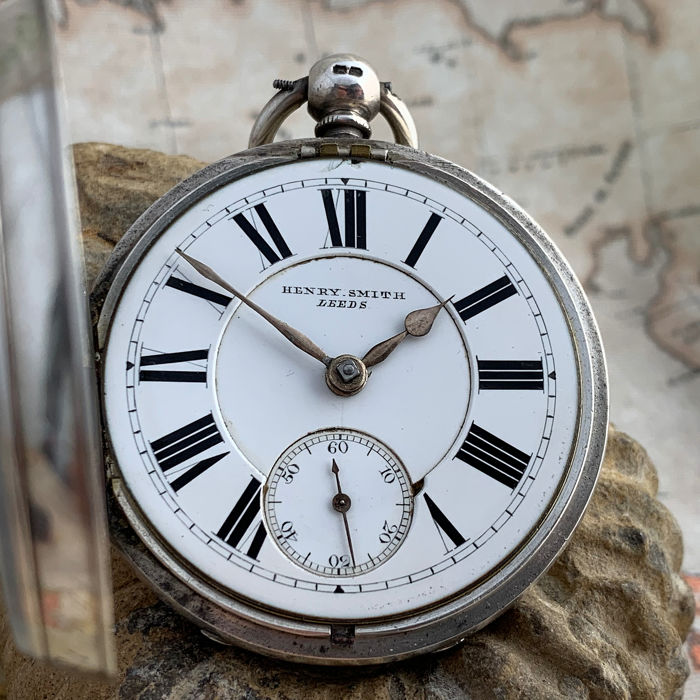 Henry Smith - Fusee pocket watch - NO RESERVE PRICE - Men
