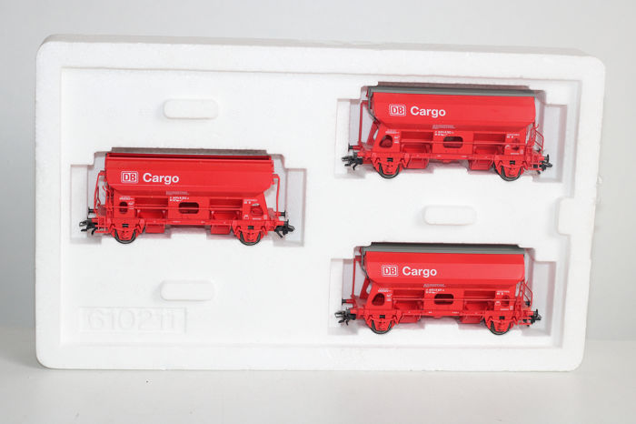 Märklin H0 - 46300 - Freight carriage - 3 side unloaders - DB