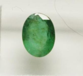 1 pcs Intense groen Smaragd - 1.17 ct