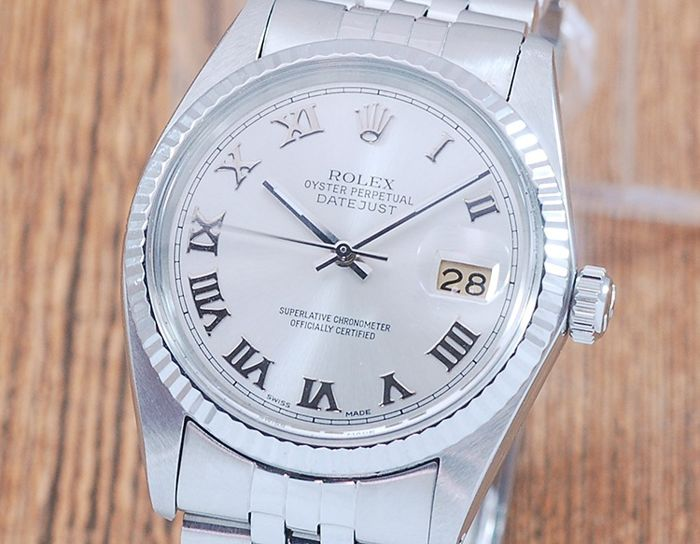Rolex - Oyster Perpetual DateJust - 16014 - Heren - 1980-1989