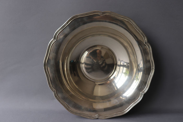 Large Bowl  - .833 silver - Portugal - Early 20th century