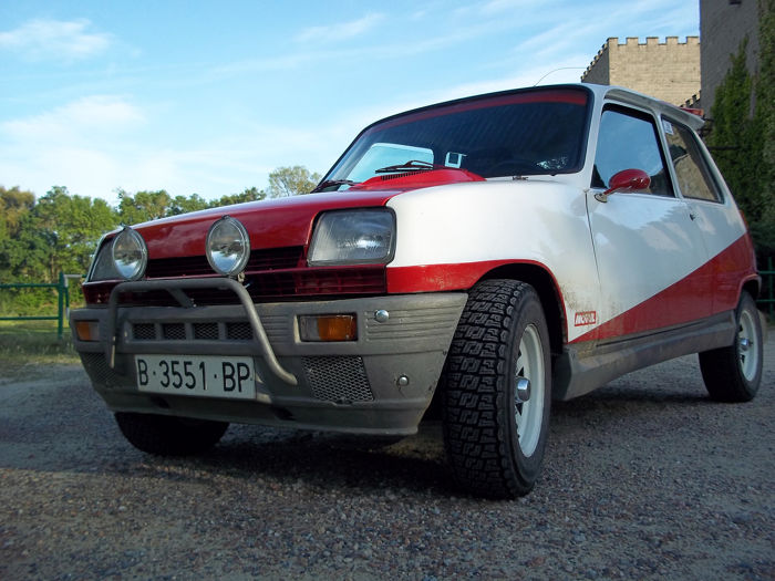 Renault - 5 TL with TS engine - NO RESERVE PRICE - 1976