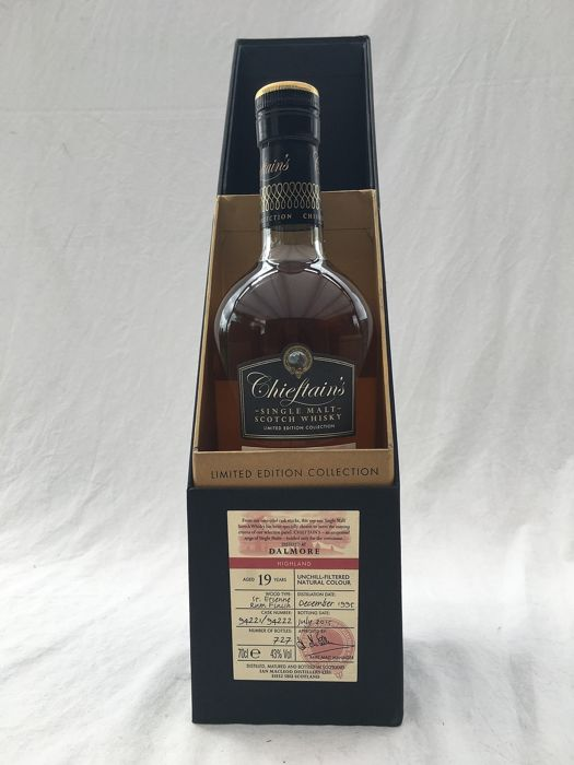 Dalmore 19 years old Chiefain's - 0,7 Liter