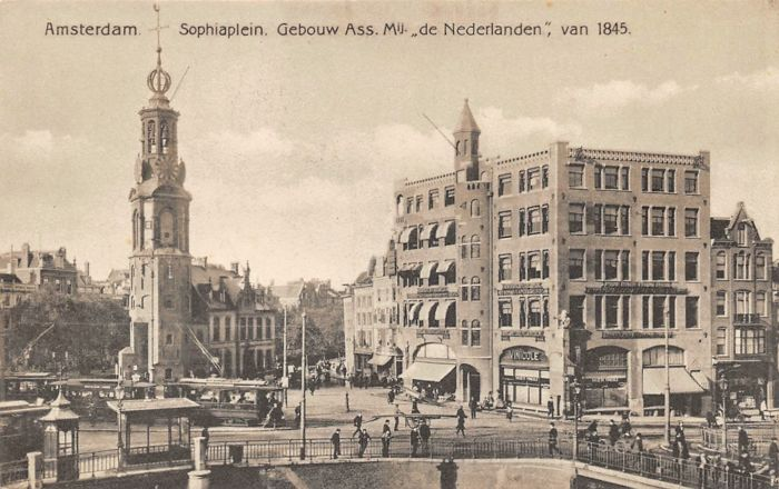 Netherlands - Amsterdam - old and very old cityscapes - Postcards (Collection of 135) - 1900