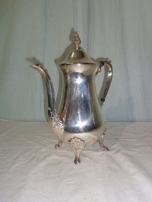 Teapot - Silver plated - U.K. - mid 20th century