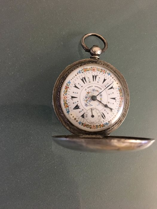 Ottoman J.Dent London-Silver - ottoman pocket watch NO RESERVE PRICE  - Uomo - 1890-1910